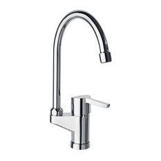 - Sink mixer with swan neck spout - Grifos de cocina