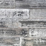 Holey Wood Studio - Smart Paneling 1/4 in. x 5 in. x 4 ft. Gray Barn Wood Wall Plank 10 Sq. Ft. - - 350-year old wood paneling made from American Hardwoods