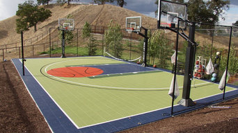 Backyard Game Court