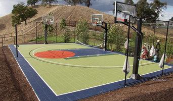 Backyard Game Court