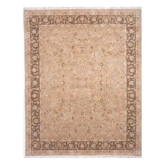 """Lotfy & Sons, Blossom Rug, 9'6""""x13'6"""" Beige"""
