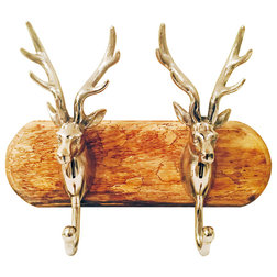 Cool Rustic Wall Hooks by Whole House Worlds