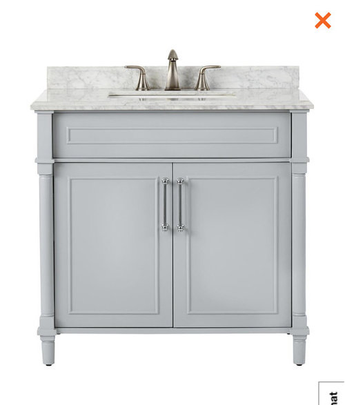 White Vs Light Gray Bathroom Vanity