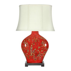 Charmant 50 Most Popular Table Lamps With A Red Shade For 2019 | Houzz