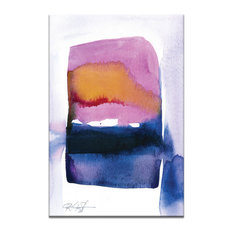 Watercolor Abstraction 217, Canvas Print
