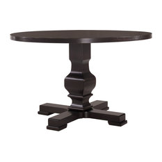 Regency Round Pedestal Table Espresso