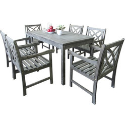 Craftsman Outdoor Dining Sets by Vifah