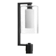 50 most popular contemporary post lights for 2018 houzz progress lighting progress p6420 31 compel outdoor post light black post aloadofball Images