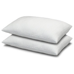 Contemporary Bed Pillows by Exquisite Hotel