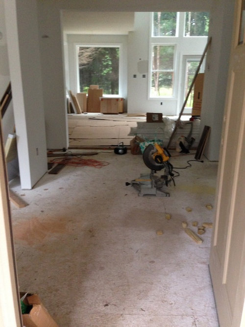 Question On Direction To Run Hardwood Flooring