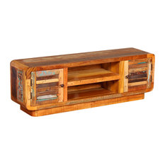 VidaXL Solid Reclaimed Wood TV Cabinet, 120x30x40 cm