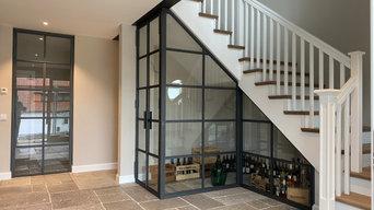 Weinschrank und Lofttüren