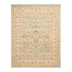 "Safavieh Antiquity Collection AT822 Rug, Grey Blue/Beige, 9'6""x13'6"""