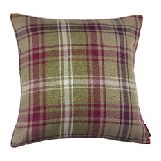 McAlister Angus Filled Cushion, Mulberry, 43x43 cm