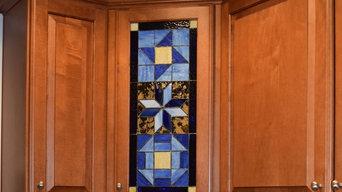 Quilt Squares Cabinet Panel