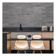 Norway Voss Concrete Backsplash Tile, Sample