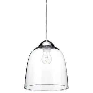 Bordeaux Glass Bell Pendant