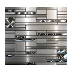 Fifties Split Contemporary Kitchen Dc Metro By