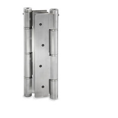 Jako Double Action Spring Hinge, Stainless Steel, Satin Stainless Steel