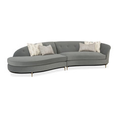 Three's Company Left Arm Facing Chaise Sectional