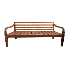- Simple Teak Daybed - Daybeds