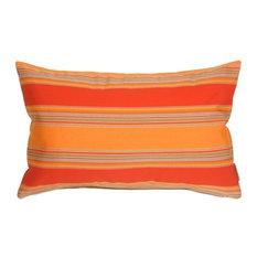Pillow Decor - Sunbrella Bravada Salsa 12 x 20 Outdoor Pillow