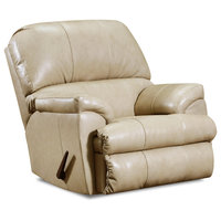 Acme Phygia Motion Recliner With Tan Top Grain Leather Match Finish 55762