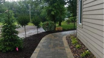 White Bear Driveway, Kitchen, Fireplace, Landscaping