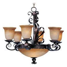 Aspen 9-Light Chandelier, Oil Rubbed Bronze