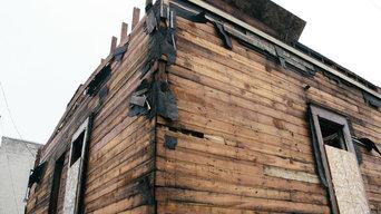 Deconstruction & Salvaging Project - Milwaukee Winter 2015