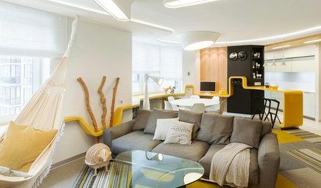 Visite Privée : Gommer les angles d'un appartement biscornu