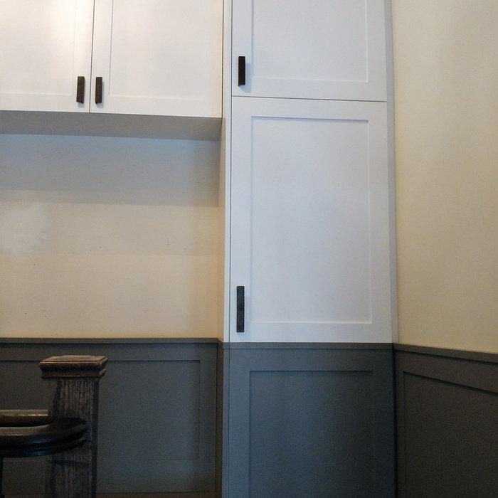 Mud Room Custom Made Cabinetry