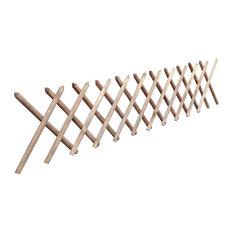 VidaXL Impregnated Expandable Wooden Trellis Fence, 250x60 cm