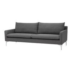 Anders Three Seater Sofa, Slate Gray