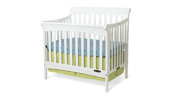 Ashton Mini Convertible Crib, White