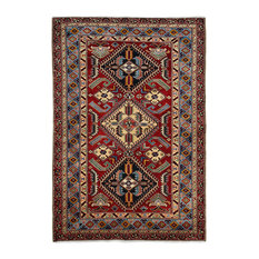 """Shirvan, Hand Knotted Area Rug, 4'x5'10"""""""