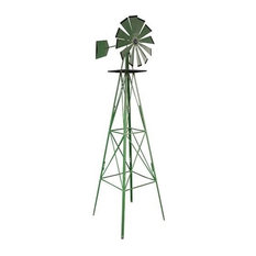 Buffalo Corp   Sportsman Series Classic 8 Foot Windmill   Garden Statues  And Yard Art