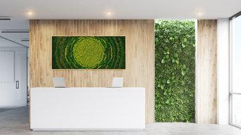 Biophilic office decor