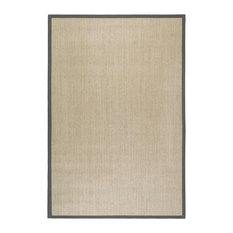 Safavieh Natural Fiber Collection NF441 Rug, Marble/Grey, 9' X 12'
