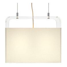 "Pablo Design Tube Top Pendant Light, 14"""
