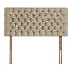 Tiffany Upholstered Headboard, Sand, 180 cm