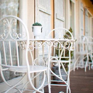 Idéer för att renovera ett mellanstort shabby chic-inspirerat hem