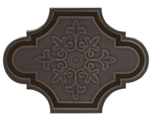 UP1826BLK Black - Wall & Floor Tiles