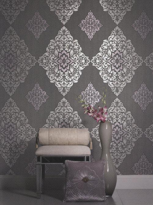 Elegant Wallpaper | Houzz