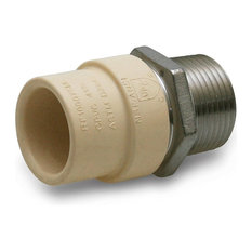"3/4"" Lead Free Transition Fitting, Stainless Steel, Male Threaded"