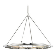 Hudson Valley Lighting 2745-Pn Chambers Pendant Light, Polished Nickel