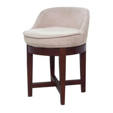 Elegant Home Fashions - Cuddy Vanity Stool - Vanity Stools and Benches  sc 1 st  Houzz & Contemporary Vanity Stools and Benches | Houzz islam-shia.org