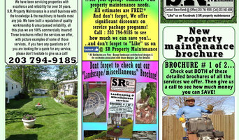 Property Maintenance & Landscape Brochures