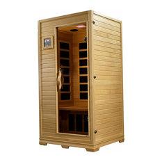 Golden Designs 1-2-person Low EMF Far Infrared Sauna