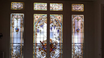 Stained glass panels, Art Glass, Vitraux PARIS by France Vitrail International